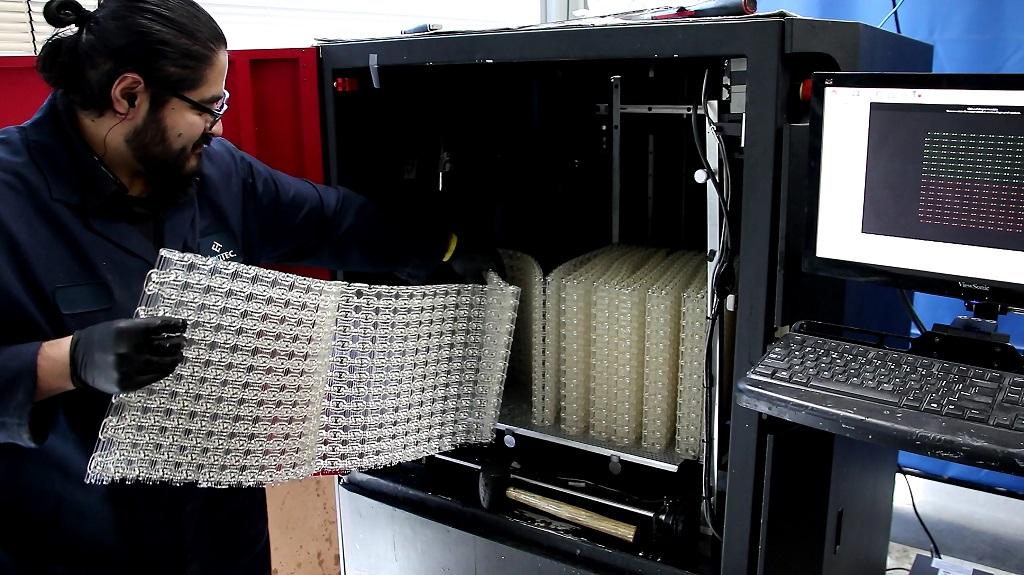 EnvisionTEC推出树脂材料E-RigidForm打印世界上最长的3D打印链条强度赛过尼龙