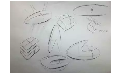无人机设计草图
