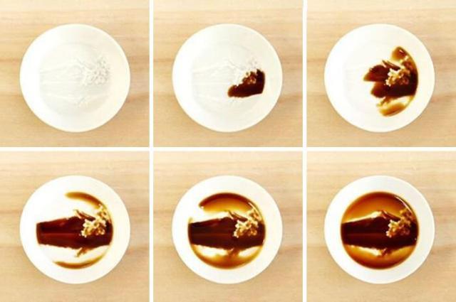 """日本设计工作室利用3D打印 制作""""隐藏绘画""""酱油碟"""